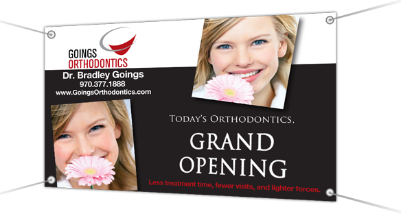 Orthodontic Vinyl Banners