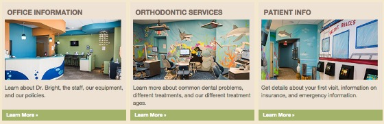 Orthodontic Website Example