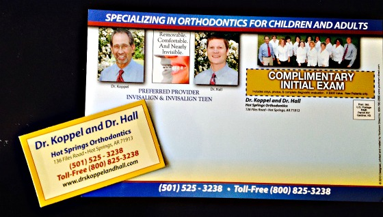 Orthodontic Marketing Postcard Example