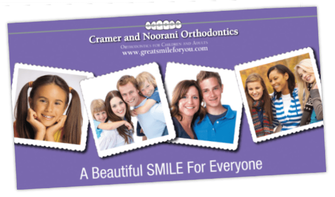 orthodontic postcards
