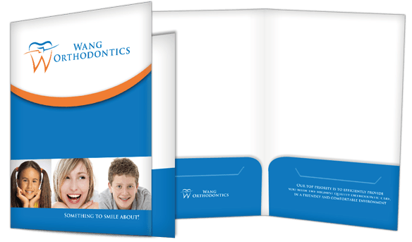 orthodontic presentation folders