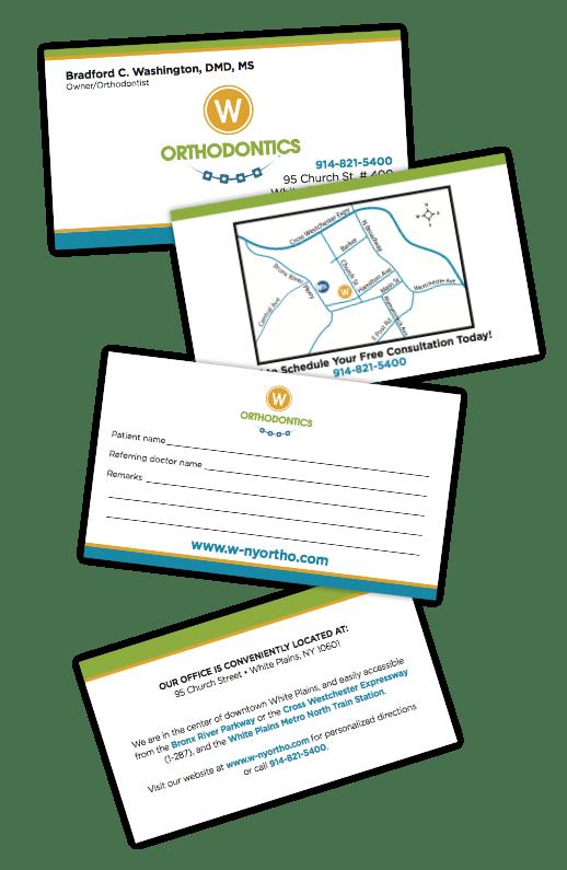 referral card printing