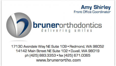 Bruner_Orthodontic_Business_Card