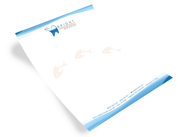 full color letterhead