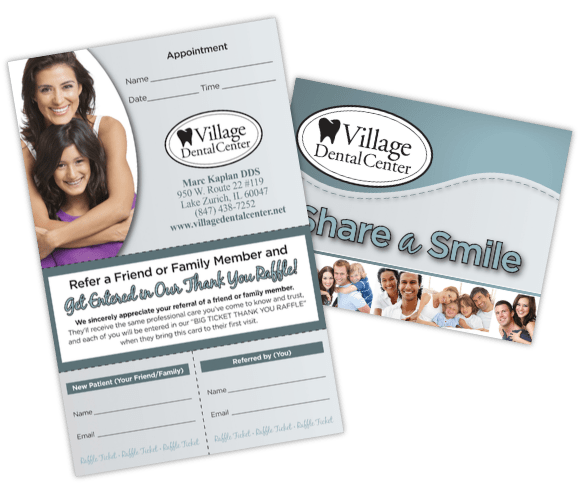 Orthodontic Referral Cards