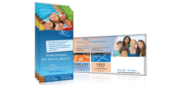 orthodontic rack cards